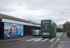 DSCF5777 Konectbus 631 (SN65 OAM) at Norwich Airport - 11 Jan 2019