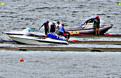 Boats On Lake Karapiro.