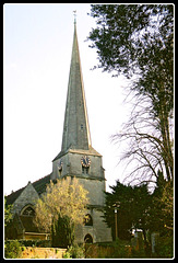 Saint Mary's church, Tetbury, Gloucestershire.