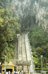 Stairs to Batu Caves