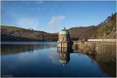 Foel Tower Reflection