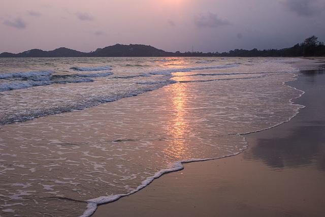 Sunset at Ban Phe