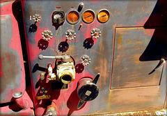 Gauges & valves 1950s Diamond-T