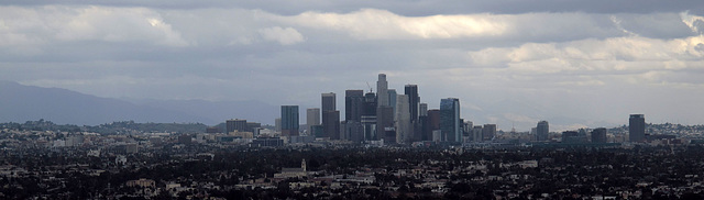 Downtown L.A. From Baldwin Hills Scenic Overlook (1446)