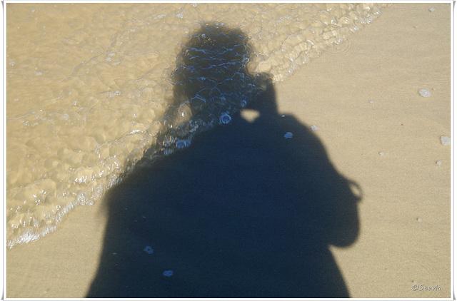 """Meine dunkle Seite als """"Sandbild"""" ;-)"""