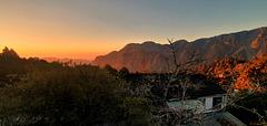 Sonnenuntergang bei Alishan
