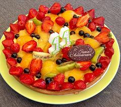 Gâteau d'anniversaire des 11 ans de Killian**************
