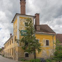 Altes Brauereigebäude in Völkermarkt