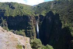 Ethiopia, Simien Mountains, Jinbar Waterfall