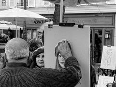 Le portraitiste de la place du Tertre