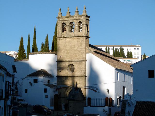 RONDA (Málaga). Iglesia del Padre Jesús (sXV-XVI).
