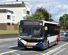 Stagecoach 26165 in Cosham - 27 May 2019