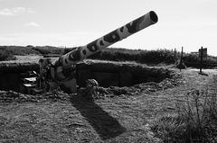 German Howitzer, Guernsey coastal defences