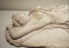Detail of a Marble Dying Amazon in the Metropolitan Museum of Art, July 2016
