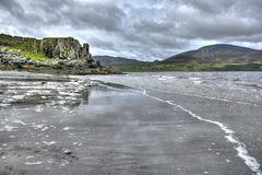 Reflections on Staffin Beach - Isle of Skye (1 x PiP)