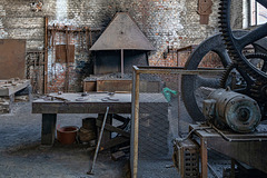 Bois du Luc - the workshop