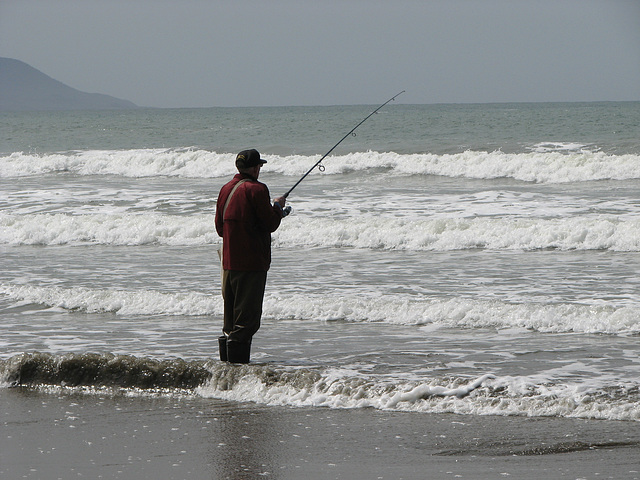 Fishing near Morro Bay