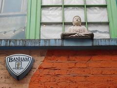 Buddha and burglar alarm