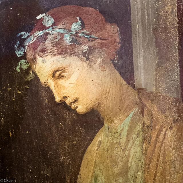 Fresque romaine (couleur)