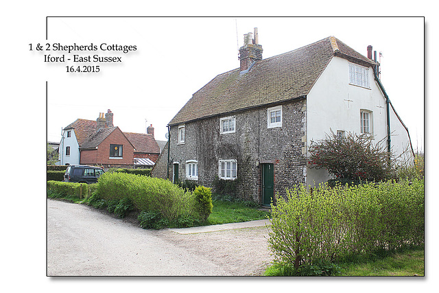 1&2 Shepherds Cottages - Iford - Sussex - 16.4.2015