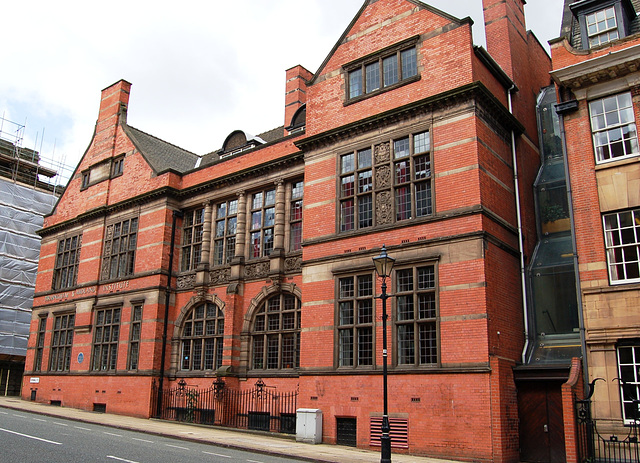Birmingham and Midland Institute, Cornwall Street facade, Birmingham