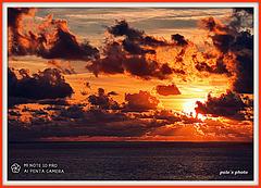 Puesta de sol de hoy, martes 14 julio 2020