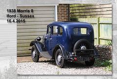 1938 Morris 8 - Iford - Sussex - 16.4.2015