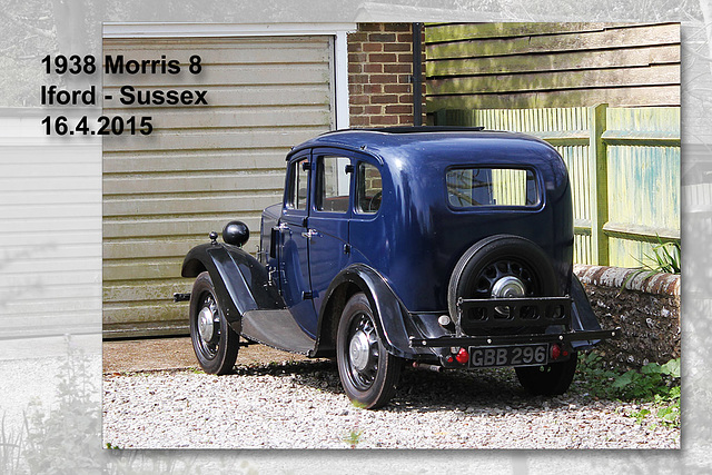 1938 Morris 8 - Iford - Sussex - 16.4.2015