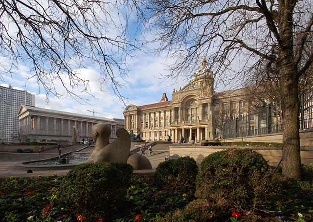 City and Town Halls, Birmingham