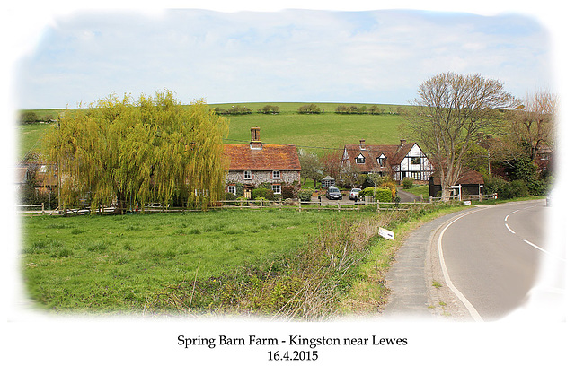 Spring Barn Farm - Kingston near Lewes - Sussex - 16.4.2015