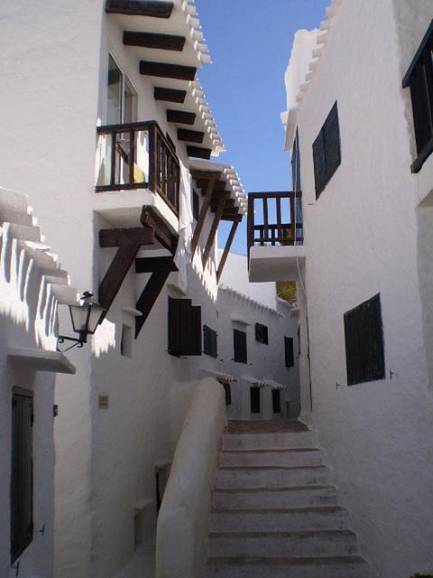 Resort of touristic apartments.