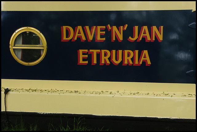 Dave 'n' Jan - Etruria