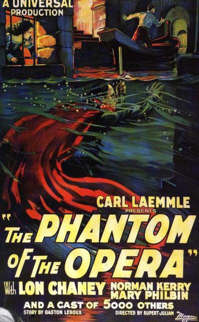 The phantom of the opera/ La Fantomo de l' Operejo