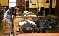 Printing Shop, Barkerville, BC
