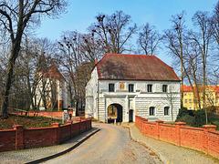 Mirow (Mecklenburg-Strelitz), Blick zur Schloßinsel