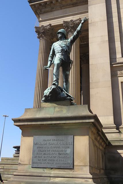 maj. gen. earle memorial, liverpool
