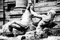 Rom - Trevi-Brunnen - Detail