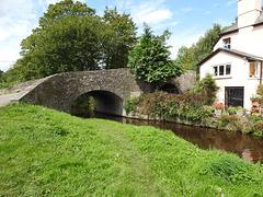 Bridge 165 & Watton Wharf, Monmouthshire-Brecon Canal, Brecon 23 August 2017