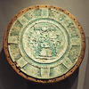 Turquoise Mosaic Shield in the Metropolitan Museum of Art, May 2018