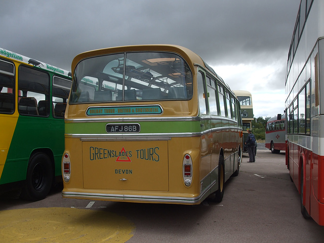 DSCF4737 Greenslades Tours AFJ 86B - 'Buses Festival' 21 Aug 2016