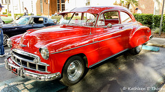 Vintage Chevrolet Deluxe Coupe
