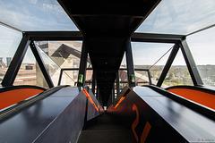 Zeche Zollverein - auf der grössten freistehenden Rolltreppe Deutschlands (© Buelipix)