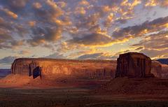 Arrowhead Mesa and Elephant Butte