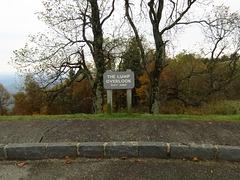 The Lump Overlook - Blue Ridge Parkway