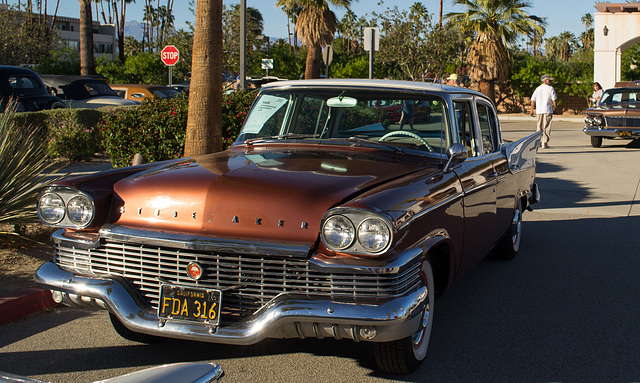 Ipernity Palm Springs Auto Show Stude Aker By Don Barrett - Palm springs car show