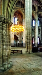 Chandelier, Cathedral of St Etienne, Bourges, France