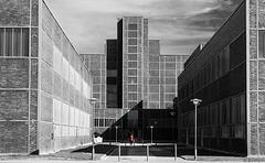Zeche Zollverein - vor dem Red Dot Design Museum (© Buelipix)
