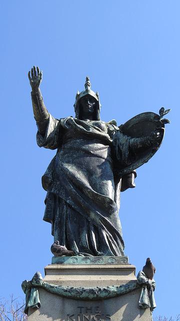 king's liverpool regiment memorial, liverpool