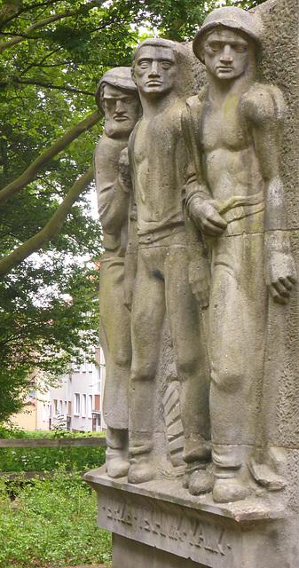das Johann Egestorff Denkmal am Lindener Berg
