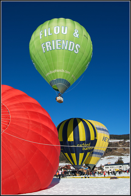 Dobbiaco balloon festival